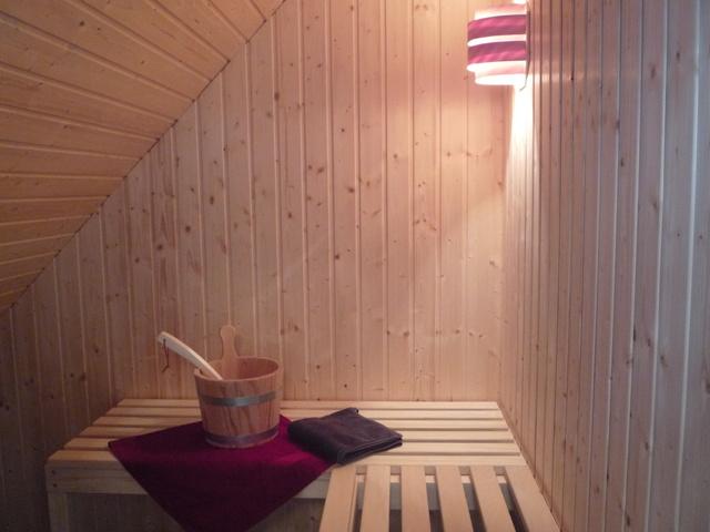 ...mit eigener Sauna