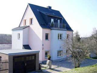 Ferienwohnung Am Steigerwald Haus- Vorderansicht