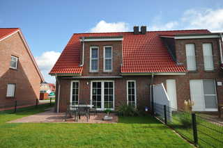 Nr. 130 - Ferienhaus Cliner Straat (4Erw.+1Ki16J+1Ki2J) Garten / Terrasse