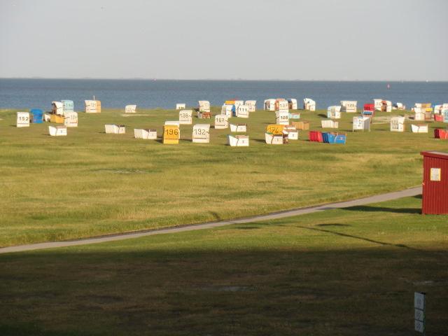 Weitläufiger Strand in Schillig