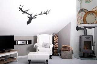 Solling-Lounge Wohnzimmer mit Kamin Solling-Lounge II