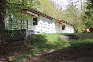 Ferienhaus Reinhold in Feldberg Blick auf die Ferienhäuser