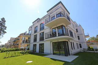 MZ: Strandvilla Andrea Whg. 07 Meerblick mit Balkon Hausansicht