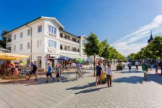 Villa Hildegard-Strandnähe - Balkon-im Zentrum von Binz/7 Außenansicht