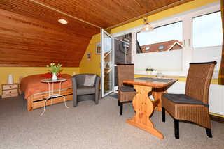 Apartment Storchennest Wohnraum