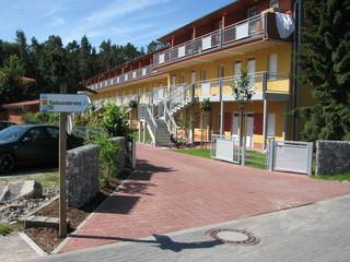 Zempin Ostseepark WE 42 **Insel Usedom**150m zum Strand** Gebäudeansicht