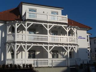 Ferienwohnung Villa Strandburg 34 im Ostseebad Binz, Rügen Außenansicht