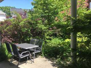 Villa Jasmin WE 1 Terrasse im Grünen