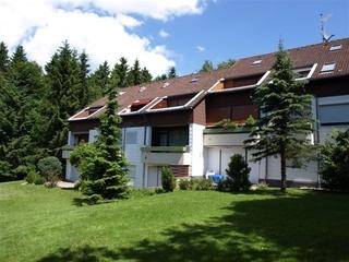 Ferienwohnung Babinski *SORGENFREI BUCHEN* Außenansicht; Ferienwohnung mit Balkon