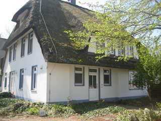 Landhaus am Haff Fewo A 12 Eingang zum Haus