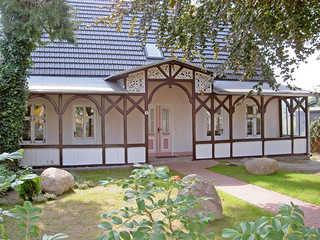 Alte Büdnerei F 550 WG 2 im DG mit Sitzplatz im Garten Die Alte Büdnerei im Ostseebad Sellin