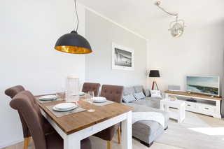 Villa Wiederkehr Heimkehr offener Wohn- und Essbereich