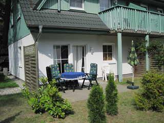 Zinnowitz Skanepark Ferienwohnung 08 im EG Terrasse