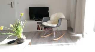 Appartement Residenz Bellevue Usedom 48 DSL-WLAN kostenlos Wohnzimmer