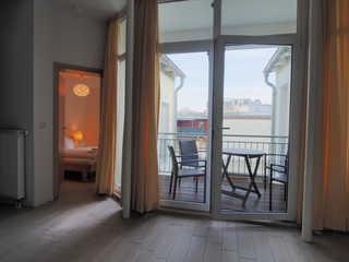 Ferienhaus Alisch Fewo 3 Balkon