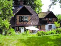 Charmantes Bauernhaus an der Ostsee Fietes Haus Gartenseite
