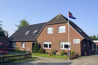 Haus Heeren in Bensersiel Außenansicht