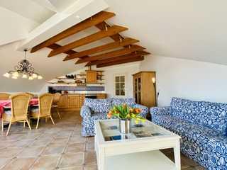 Villa Caprivi, Whg. 12, Apartmentvermietung Sass Willkommen unterm Dach der Villa Caprivi