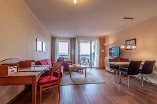 Hafendomicil Appartement WH07 - Fuchs gemütlich eingerichteter Wohn - und Essbereich ...
