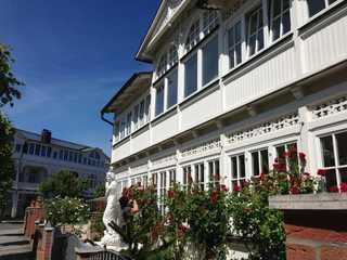 Villa Waldrose**** Außenansicht