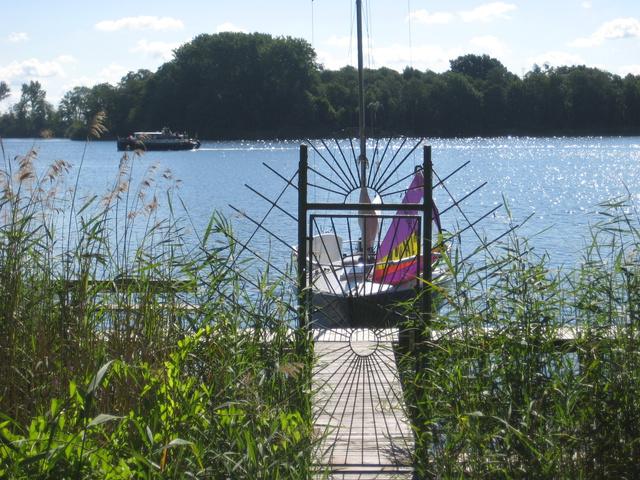 An der Uferpromenade nach Röbel