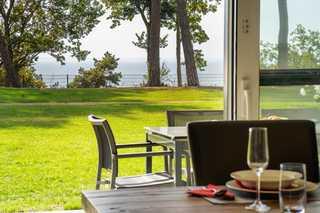 Terrassenwohnung Inselzauber - Oase am Haff wunderschöner Ausblick