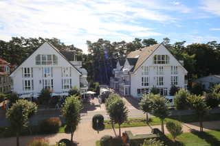 H: Ferienwohnung Ostseebrise mit Balkon Außenansicht