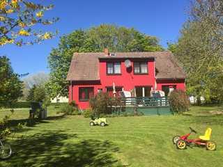Gutspark Schwarbe mit Reiterhof - Ferienhaus 3 ... Sommer in Schwarbe