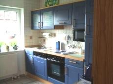 Küche im Ferienhaus Nr. 21