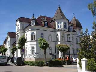 Ahlbeck, Schloss Hohenzollern - WG 21 Außenansicht