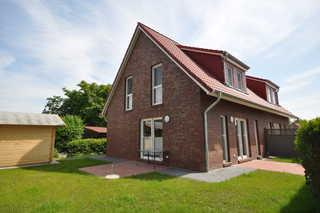 Nr. 76 - Ferienhaus Im Gartenland Garten / Terrasse