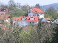 Blick auf's Haus