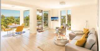 Villa Vogue Binz - Ocean & Soul mit Panorama-Ostsee-Blick Panorama Meerblick