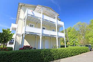 H: Villa Strandmuschel Whg. 01 mit Balkon Außenansicht
