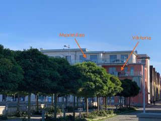 Ferienwohnungen am Barther Hafen Lage der beiden Ferienwohnungen