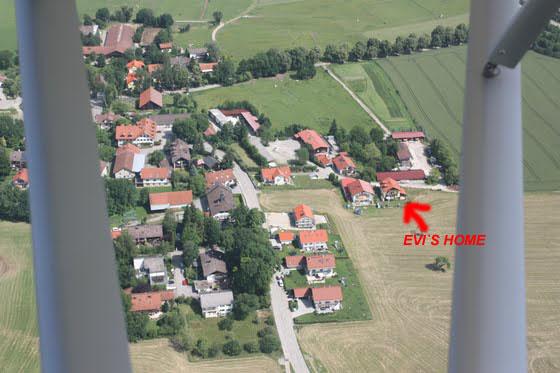 Hanfeld von oben