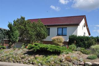 Ferienwohnung Zirchow USE 3031 Außenansicht Wohnhaus mit Ferienwohnung