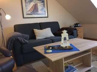 Ferienwohnung Heuer - Sorgenfrei buchen Wohnbereich
