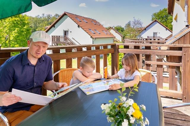 Balkon Ferienwohnung Hase