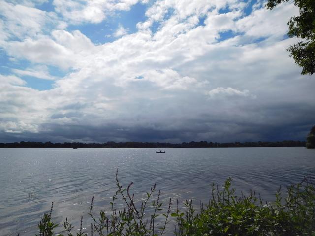 See und Wolken