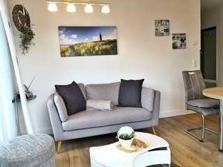 Villa Seeadler WE 20 Penthouse Wohnung Wohnbereich