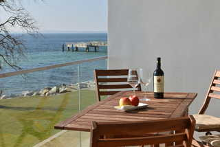 Ostseeresidenz Ausblick vom Balkon