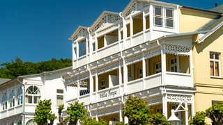 Ferienwohnung mit Balkon in Bäderstilvilla Ferienwohnung mit Balkon in Bäderstilvilla