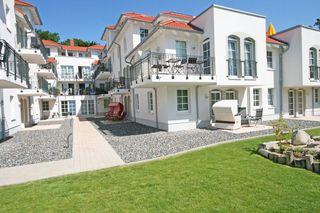 F: Haus Meeresblick A 0.04 Weiße Düne mit Terrasse Hausansicht