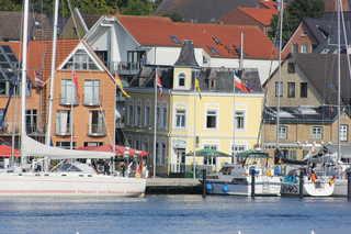 Ferienwohnungen am Hafen, S.Boettcher Ferienwohnung direkt an der Schlei