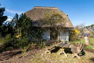 Ferienhaus in Baabe Gartenblick, Fernsicht Hausansicht