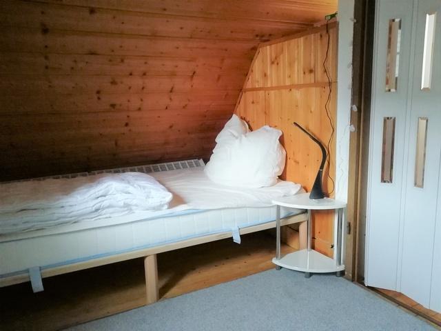 Einzelbett im 2. Schlafzimmer Heins Kajüte