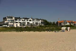 Refugium Strandallee Außenansicht Villa Meeresrauschen