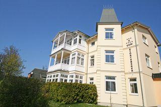 MI: Villa Störtebeker Whg. 02 mit Terrasse Objektansicht