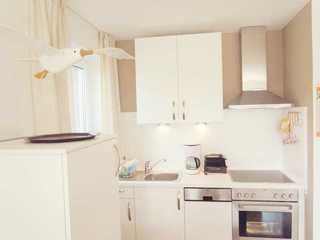 Ferienwohnung Brahms offene Küche